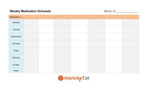 Medication Schedules Made Easy Plus FREE Printable Rx Sheets ...